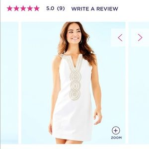 Lilly Pulitzer Dresses - Lily Pulitzer white shift dress